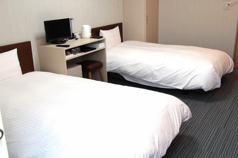 合宿ツイン部屋の写真