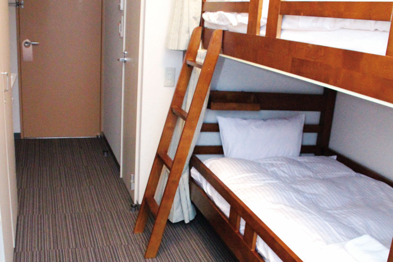 合宿二段ベッド(2名)部屋の写真