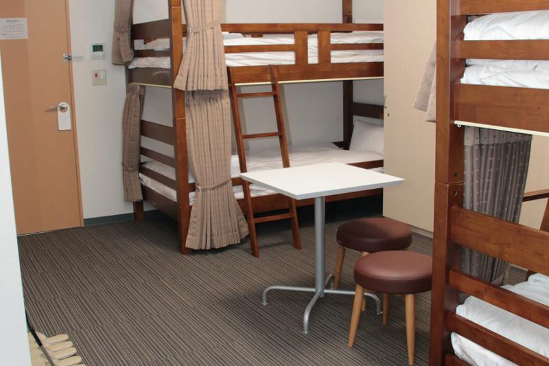 合宿二段ベッド(4名)部屋の写真